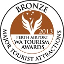 Bronze award in Major Tourism Attractions